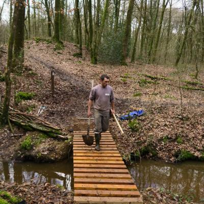2018-03-10 Fabrication passerelle forêt Rennes-11