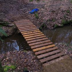 2018-03-10 Fabrication passerelle forêt Rennes-16