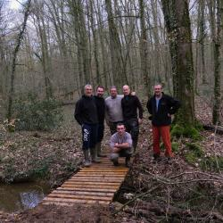 2018-03-10 Fabrication passerelle forêt Rennes-24