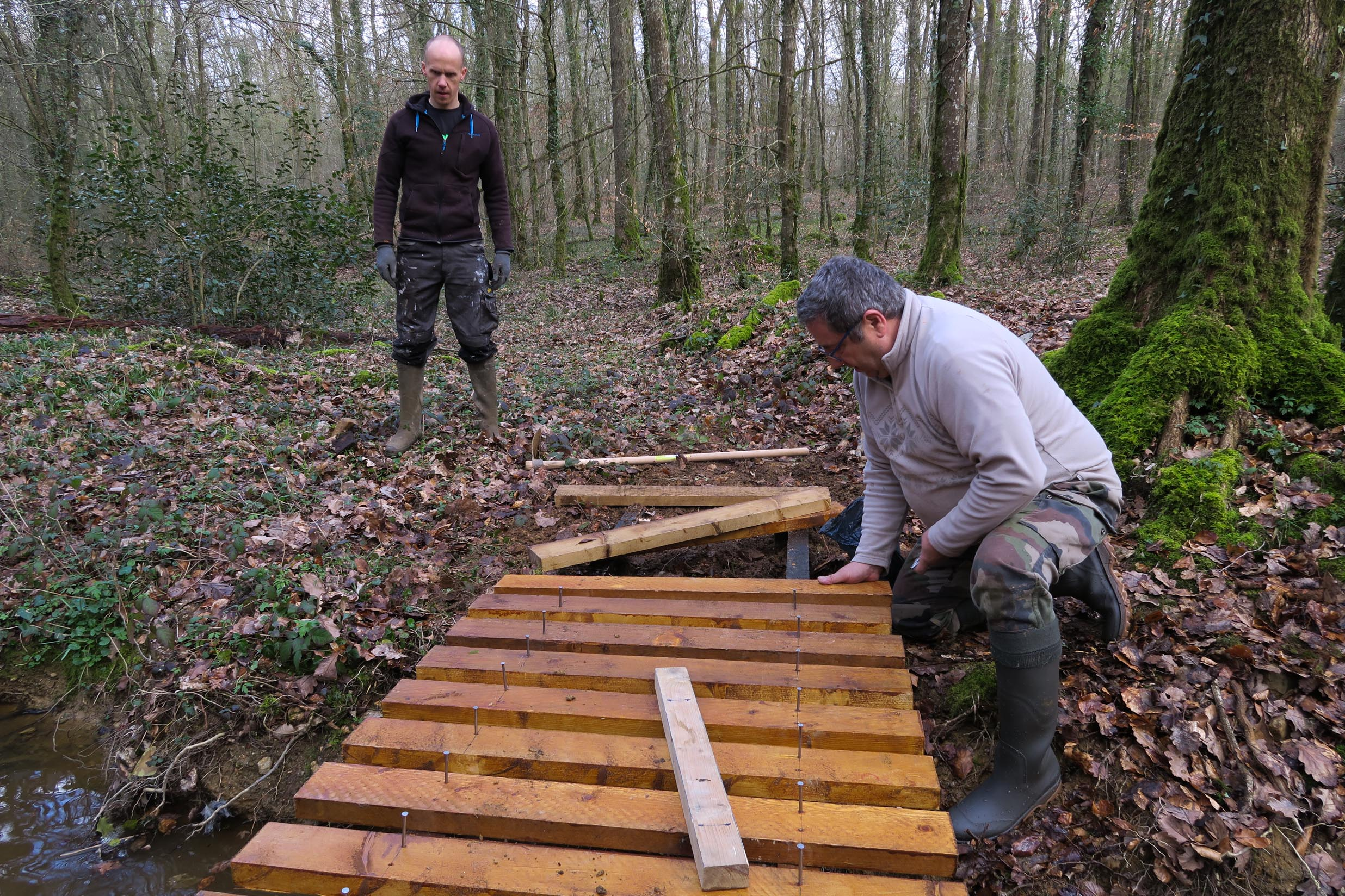 2018-03-10 Fabrication passerelle forêt Rennes-5