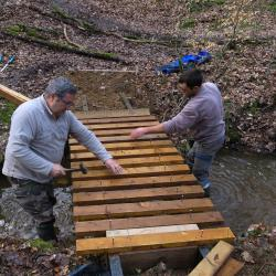 2018-03-10 Fabrication passerelle forêt Rennes-6