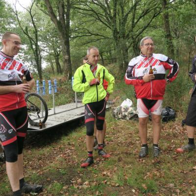 Rallye raid VTT Liffré/Redon