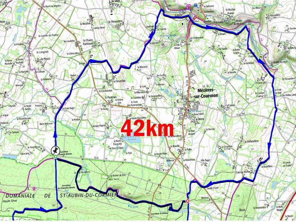Le couesnon 42km
